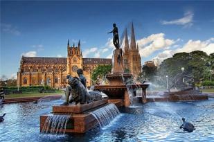 澳大利亚新西兰南岛九日游-澳新连线,悉尼,堪培拉,基督城,皇后镇,库克山,基督城