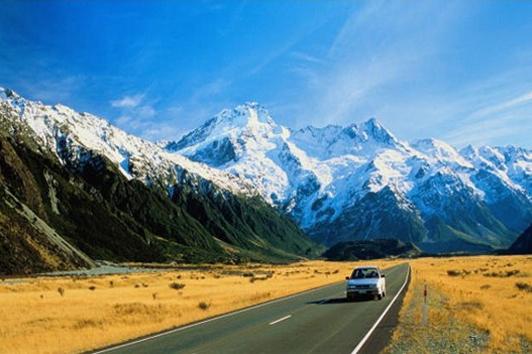 新西兰南岛-库克山 (Mount Cook)