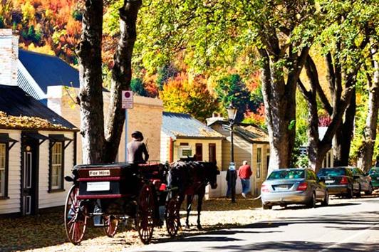 新西兰南岛旅游景点-箭镇 (Arrowtown)