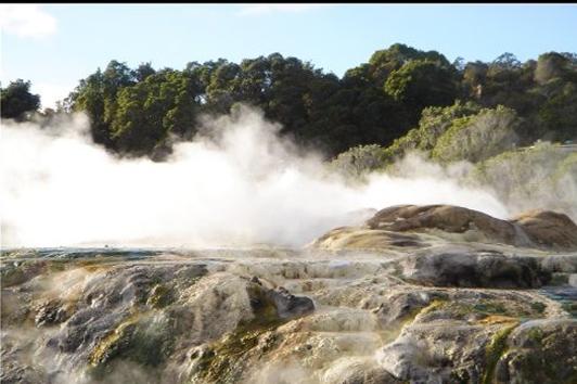 新西兰北岛-罗托鲁瓦湖( Rotoru a Lake)