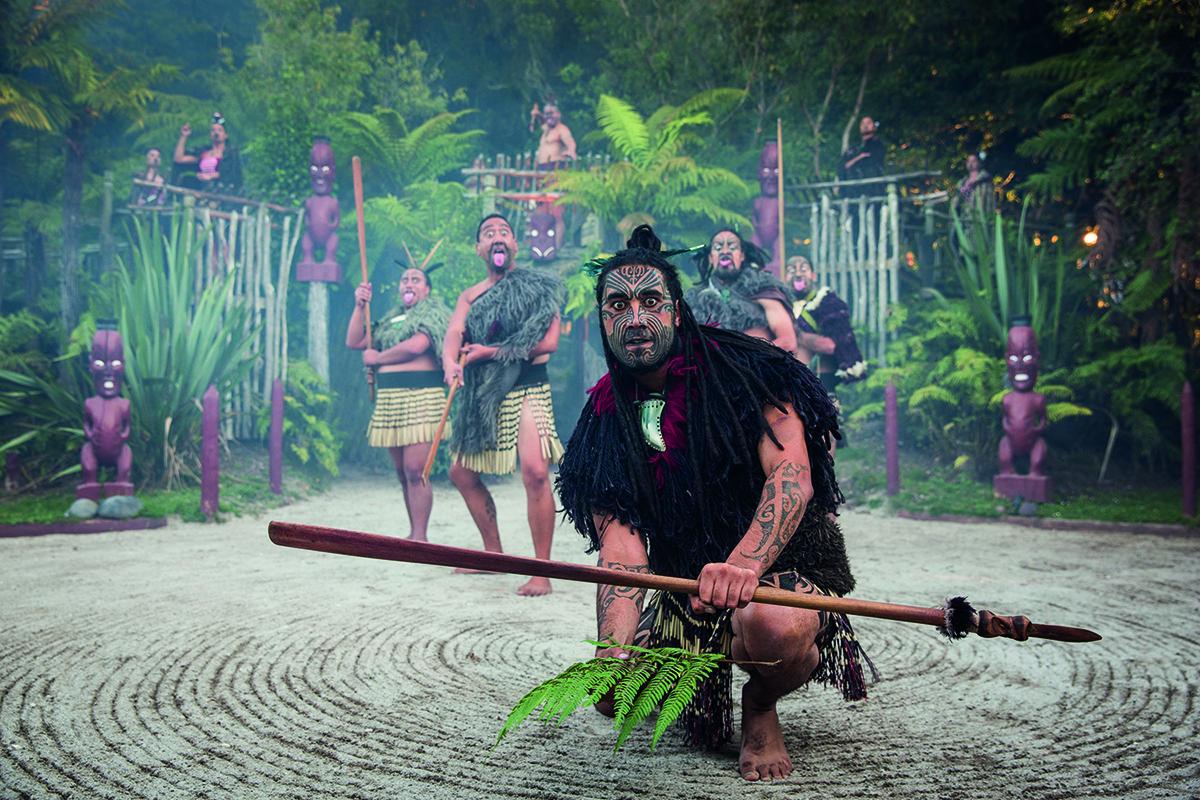 新西兰北岛-毛利文化村( Maori Village)