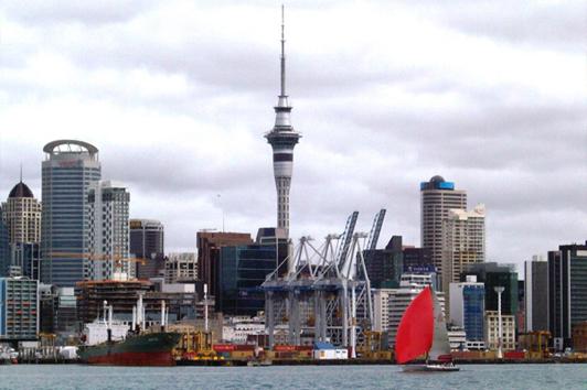 新西兰北岛-天空塔( Sky Tower)