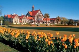 新西兰北岛旅游景点-政府花园 (Government Gardens)