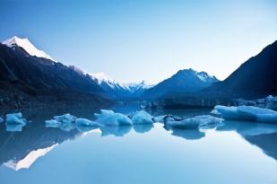 新西兰南岛-塔斯曼冰河 (Tasman Glacier)