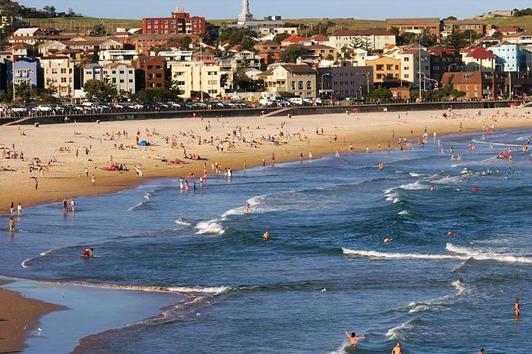悉尼邦迪海滩 (Bondi Beach)
