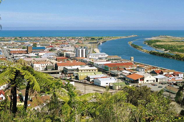 新西兰南岛-格雷茅斯(Greymouth)