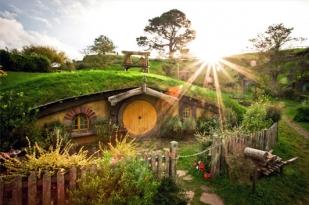 新西兰北岛-霍比屯中文讲解游览(Hobbiton Movie Set )