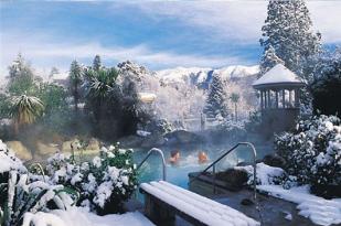 新西兰南岛-汉默温泉小镇水疗中心(Hanmer Springs)