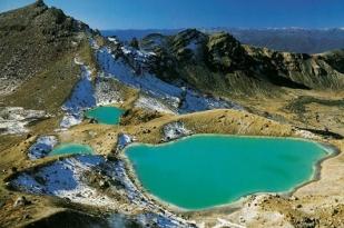 新西兰北岛汤加里罗国家公园(Tongariro National Park)