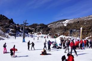 新西兰北岛华卡帕帕滑雪场(Whakapapa Ski Area)