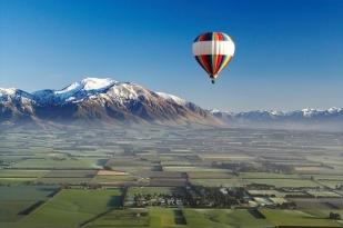 新西兰南岛坎特伯雷60分钟热气球(Ballooning Canterbury)