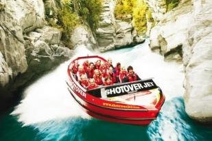新西兰南岛-基督城急速喷射快艇(Thrillseekers Jetboating)