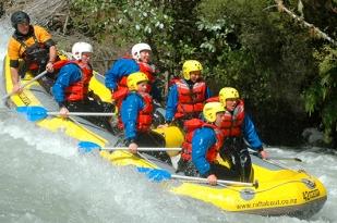 新西兰南岛-基督城漂流(Thrillseekers Rafting)