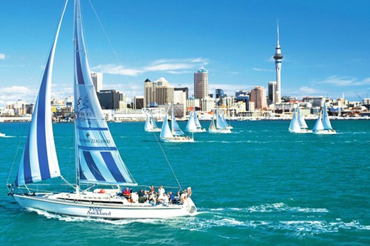 新西兰北岛-奥克兰美洲杯扬帆