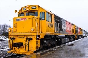 新西兰南岛-观光火车基督城-格雷茅斯单程火车(TranzAlpine)