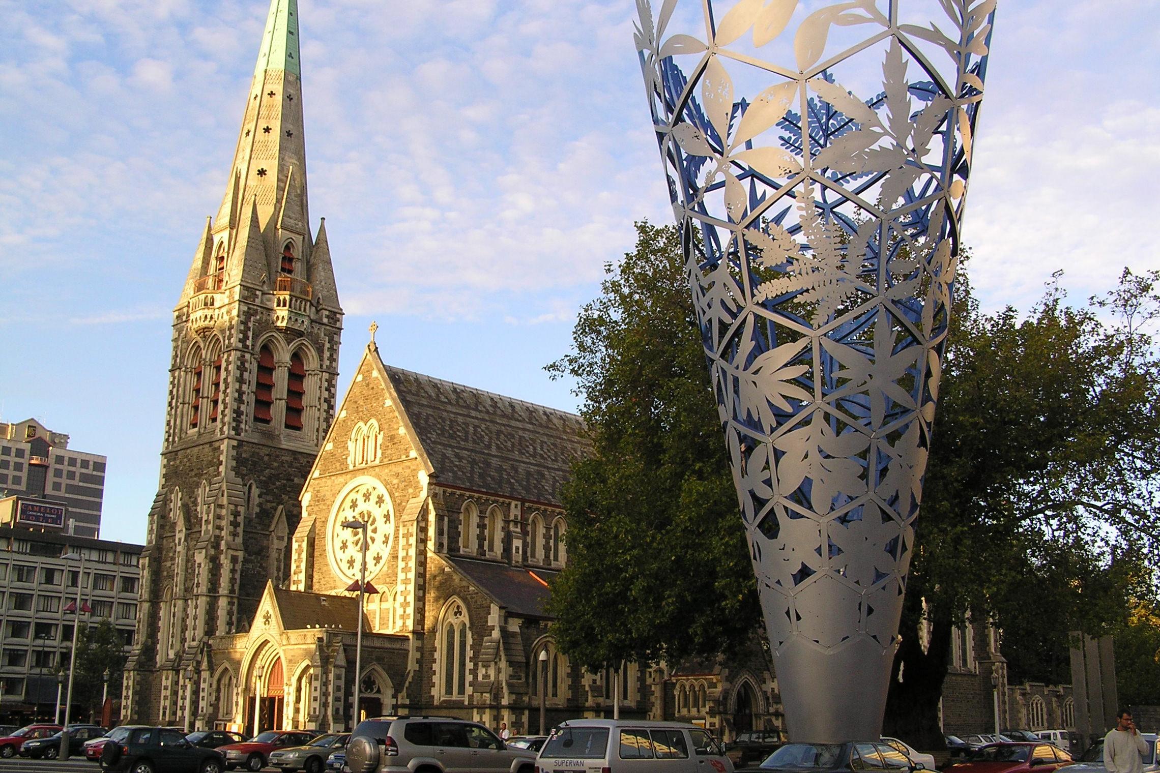 新西兰南岛-基督城 (Christchurch)