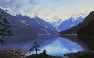 新西兰南岛-蒂阿瑙湖(Te Anau Lake)