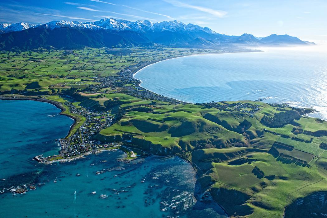 新西兰南岛-凯库拉(Kaikoura)
