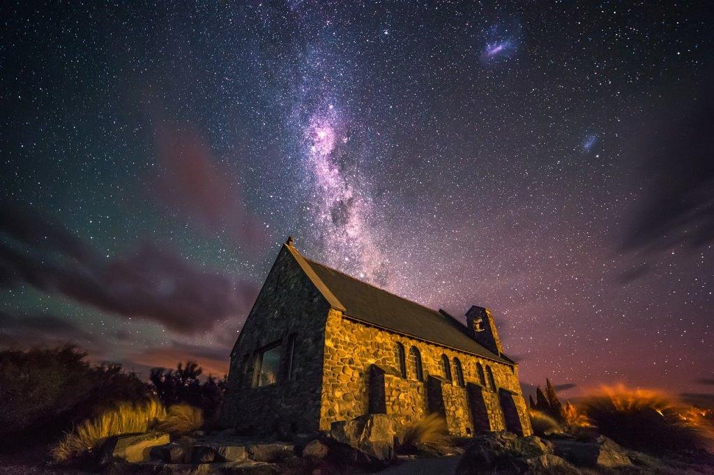新西兰南岛-好牧羊人教堂 (Church of the Good Shepherd)