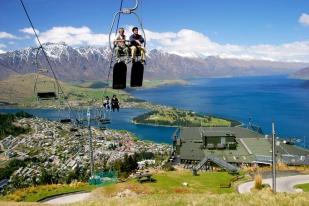 新西兰南岛旅游景点-皇后镇高空缆车,皇后全景-新西兰旅游推荐(skyline)
