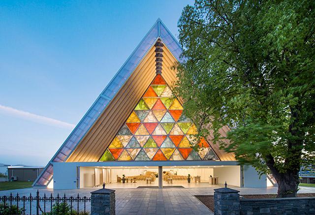 新西兰南岛-基督城纸教堂