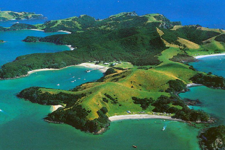新西兰北岛-岛屿湾 (The Bay of Islands)