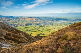 新西兰南岛-坎特伯雷平原 (Canterbury Plains)