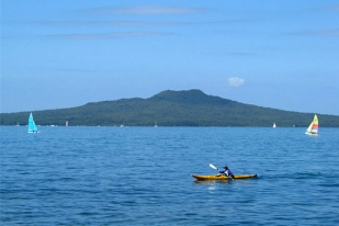 新西兰北岛-朗伊托托岛(Rangitoto Island)