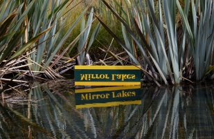 新西兰南岛-镜湖(Mirror Lakes)