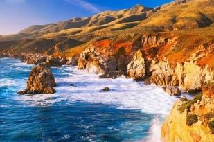 新西兰北岛-帕利斯尔湾(Palliser Bay )