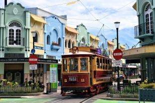 新西兰南岛-新摄政街(New Regent Street)