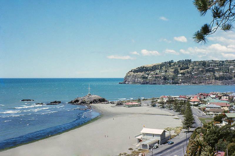 新西兰南岛-萨姆纳海滨(Sumner Beach)