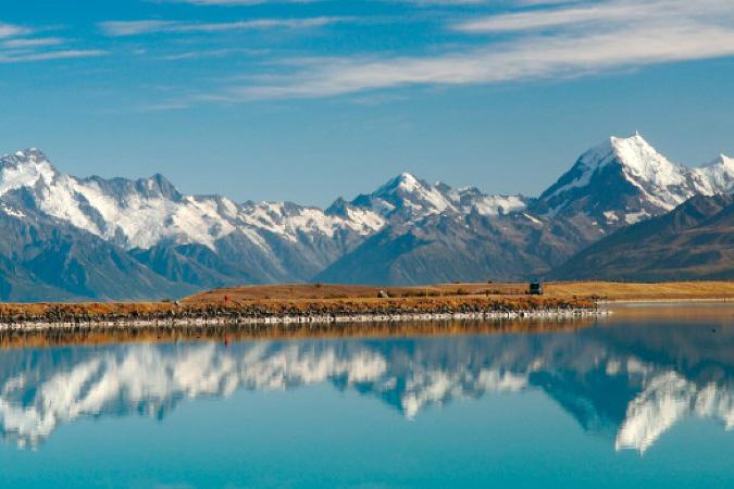 新西兰南岛-南阿尔卑斯山(Southern Alps)