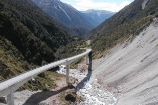 新西兰南岛-亚瑟通道(Arthur's Pass)