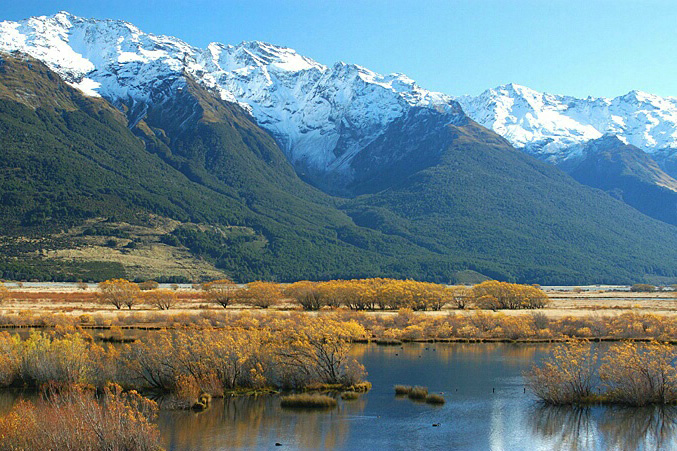 新西兰南岛-格林诺奇(Glenorchy)