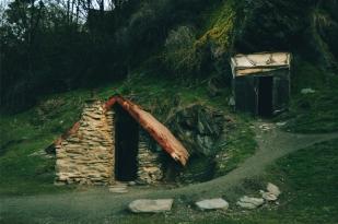 新西兰南岛-中国淘金遗址公园(Historic Arrowtown Chinese Settlement )
